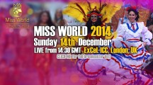 Guarda in diretta la finale di Miss World 2014! Scopri come