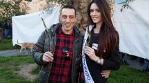 #difendiAMOgliulivi: Anche Miss Mondo Italia in piazza per la difesa degli ulivi del Salento.