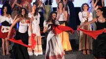 Il balletto con gli abiti tradizionali delle regioni d'Italia