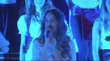 Miss Talent 2015 Erica De Matteis sul palco di Miss Mondo Italia 2015