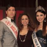Fabio Rondinelli Mister Mondo Italia 2012, Valeria Pellegrino e Jessica Bellinghieri Miss Mondo Italia 2012