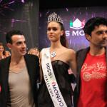 Silvia Cataldi Miss Mondo Italia 2014 insieme a Gigi e Ross