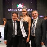SilviaCataldi Miss Mondo Italia 2014 con Antonio Marzano e Francesco Pacella