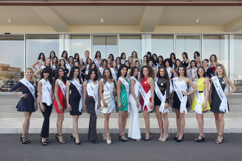 Le 50 Finaliste di Miss Mondo Italia 2018