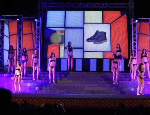Le sneakers Ago Italia sul palco di Miss Mondo Italia 2015