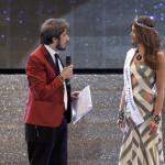 Paolo Ruffini e Greta Galassi Miss Mondo Italia 2015