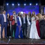 Da sinistra Alberto Manzetti per Vitality's, Paolo Ruffini, Giada Tropea Miss Mondo Italia 2016, il direttore nazionale di MMI Antonio Marzano, Greta Galassi MMI 2015 e Claudia Russo