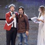 Paolo Ruffini, il coreografo di MMI Lino Perrone e Claudia Russso