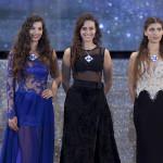 Da sinistra Giada Tropea Miss Mondo Italia 2016, Irene Gherardo e Flavia Panfili