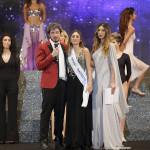 Da sinistra Paolo Ruffini, Desirè De Luca Miss Talent 2016 e Claudia Russo