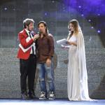 Paolo Ruffini, il coreografo di MMI Lino Perrone e Claudia Russo