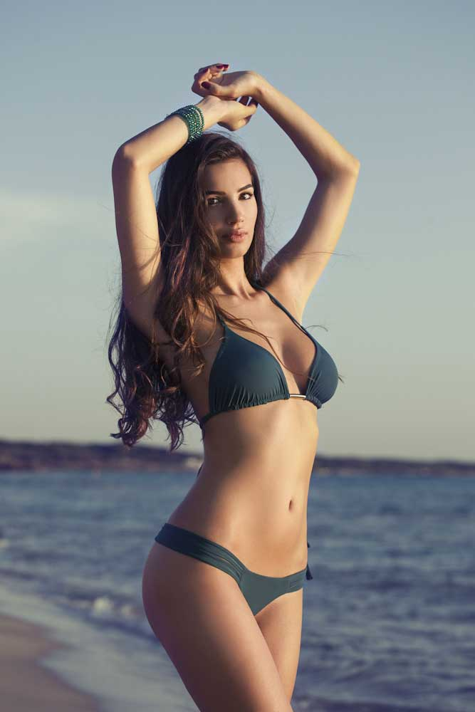 Giada Tropea bikini