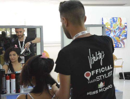 Vitality's Hairstylist Miss Mondo Italia