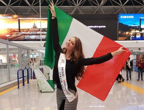 Miss World 2017 – Conny Notarstefano in viaggio per la Cina pronta a sfidarsi con 130 concorrenti da tutto il mondo.