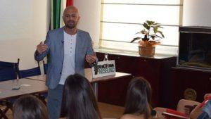 Luca Abete incontra la 150 Semifinaliste di Miss Mondo Italia 2018