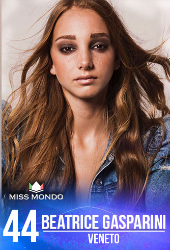 candidatas a miss italia mundo 2018. final: 10 june. (50 candidatas as usual). - Página 3 44-BEATRICE-GASPARINI