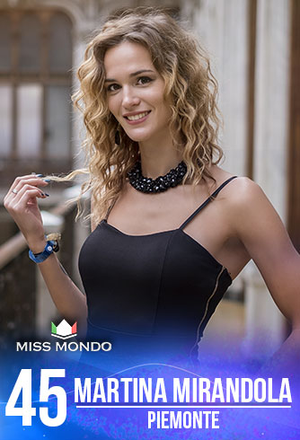 candidatas a miss italia mundo 2018. final: 10 june. (50 candidatas as usual). - Página 3 45-MARTINA-MIRANDOLA-PIEMONTE