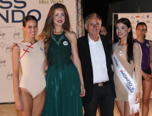 La fascia Miss Mondo Talent alla ballerina pugliese Cosmary Fasanelli