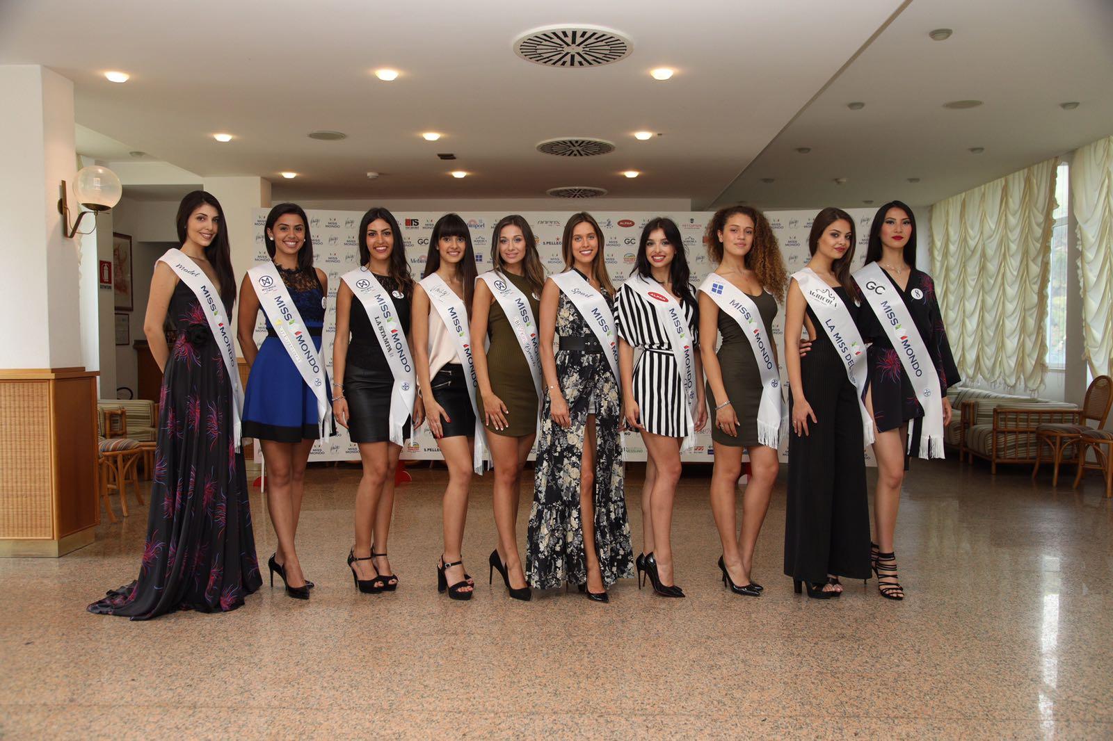 Le fascie speciali di Miss Mondo Italia 2018