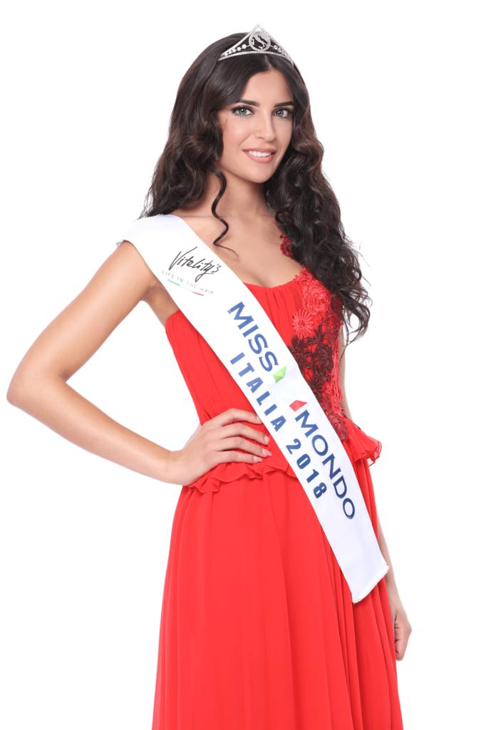 Nunzia Amato - Miss Mondo Italia 2018 - Vestito rosso 3