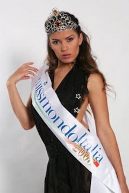 Miss Mondo Italia 2008 Claudia Russo