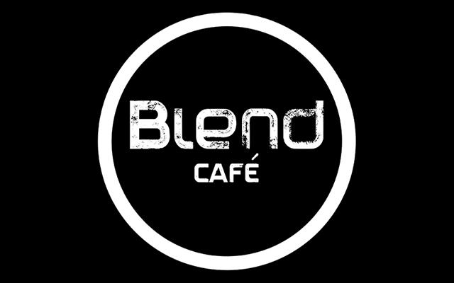 logo blend cafe