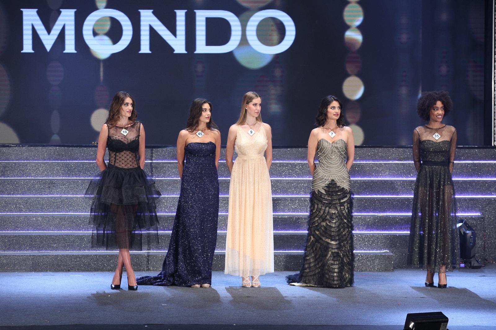le 5 finaliste di Miss Mondo Italia 2019