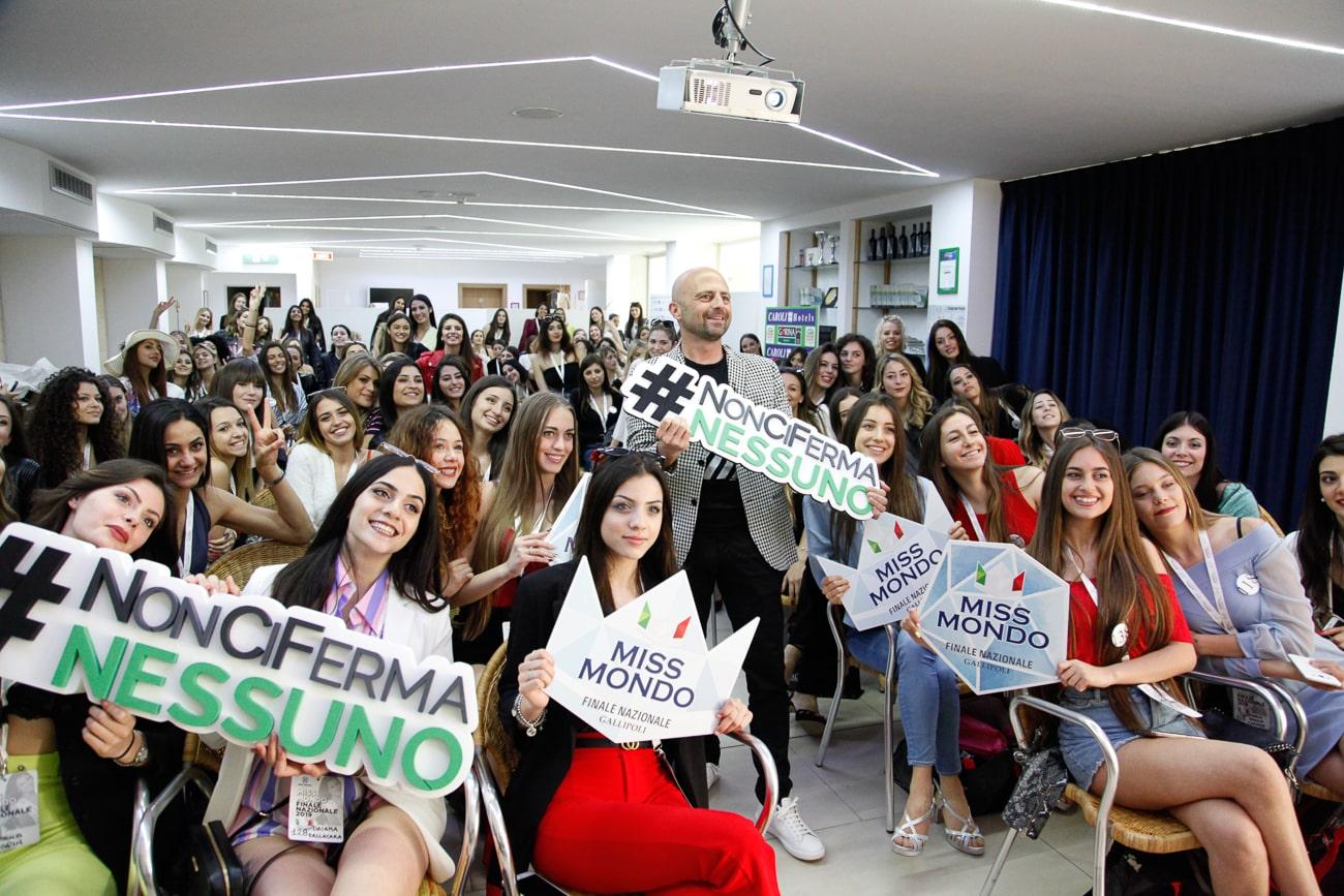 Non ci ferma nessuno con Miss Mondo Italia