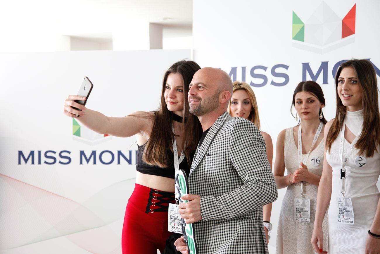 Luca Abete incontra Miss Mondo Italia 2019