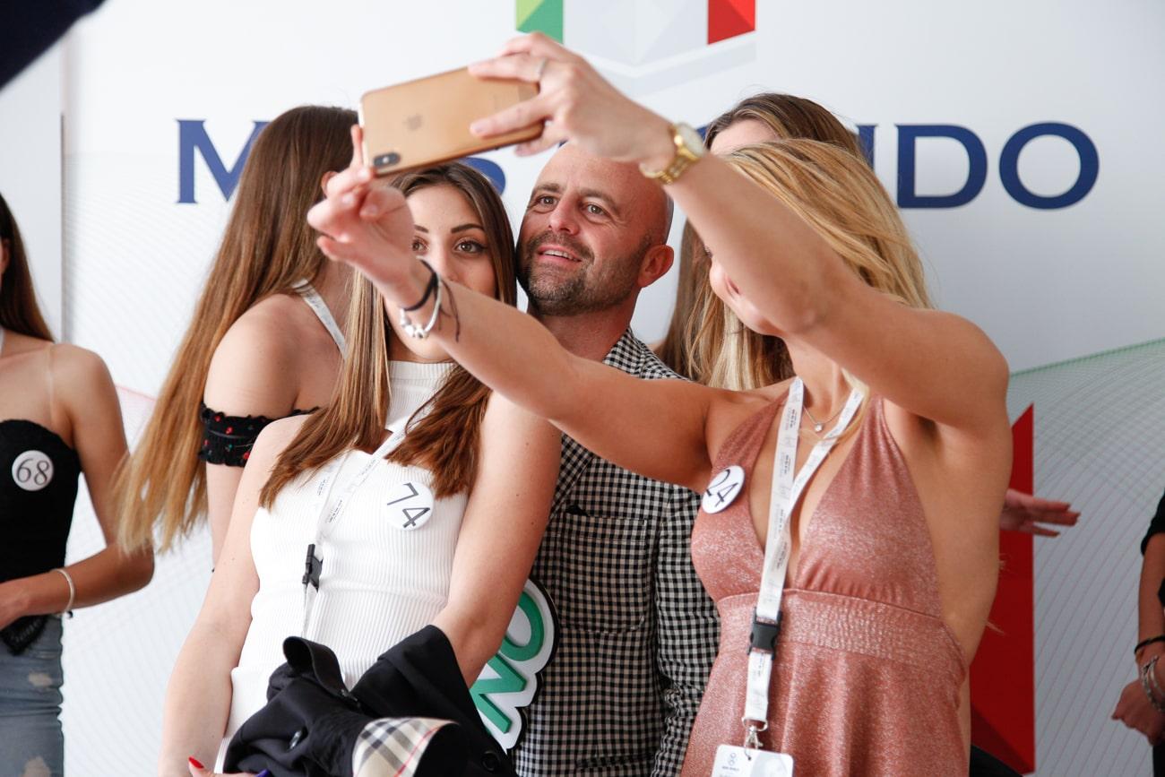 Luca Abete incontra le nostre Miss