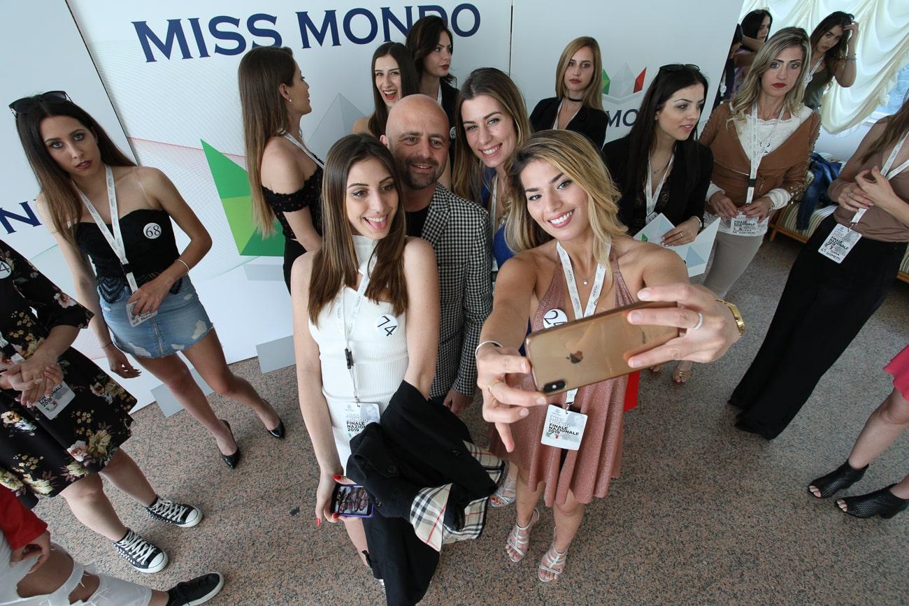 Miss Mondo Italia 2019 e Luca Abete