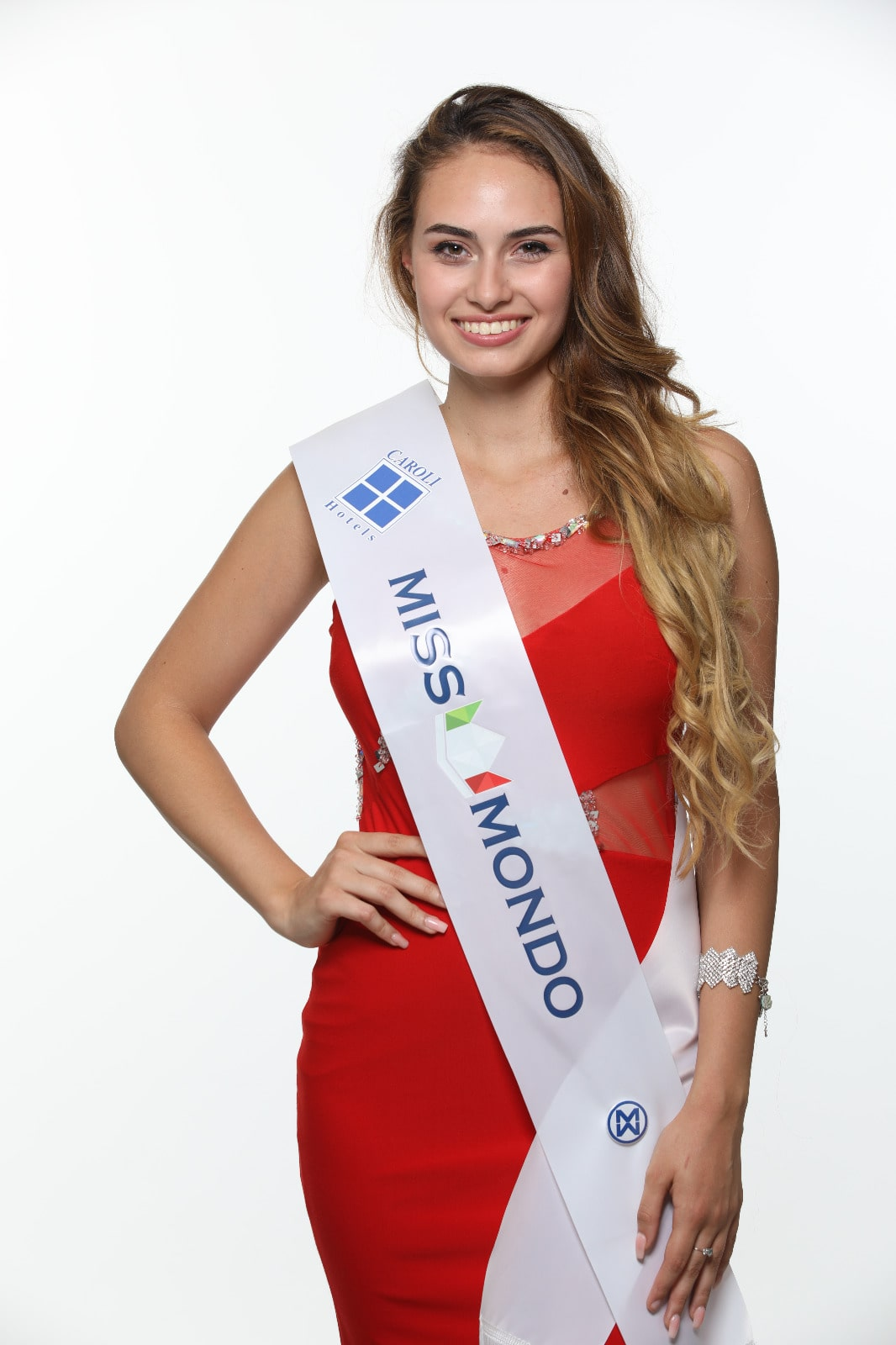 Miss Mondo Caroli Hotels Stephanie Bellarte