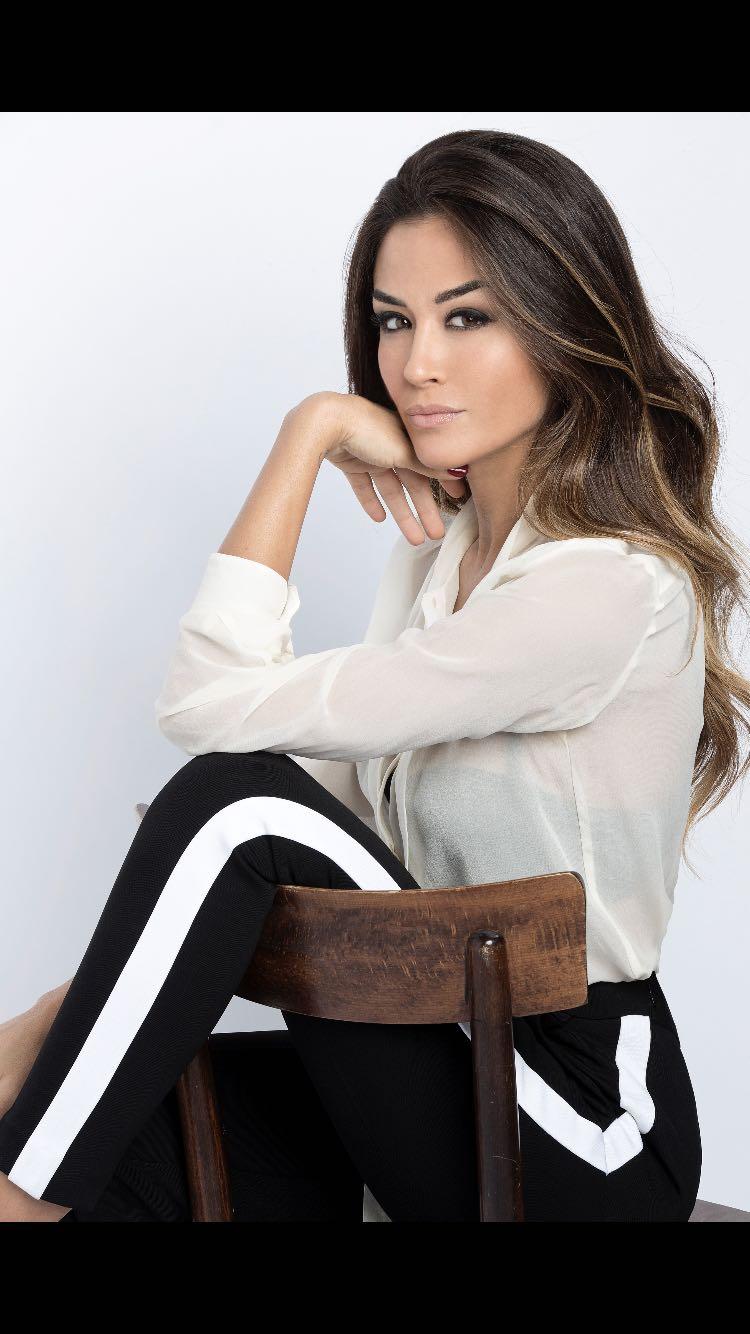 Giorgia Palmas - conduttrice della finale nazionale di Miss Mondo Italia 2019
