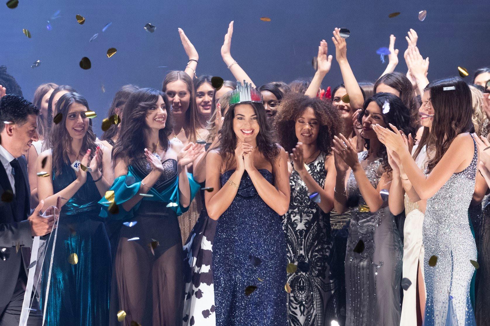 Incoronazione di Adele Sammartino - Miss Mondo Italia 2019
