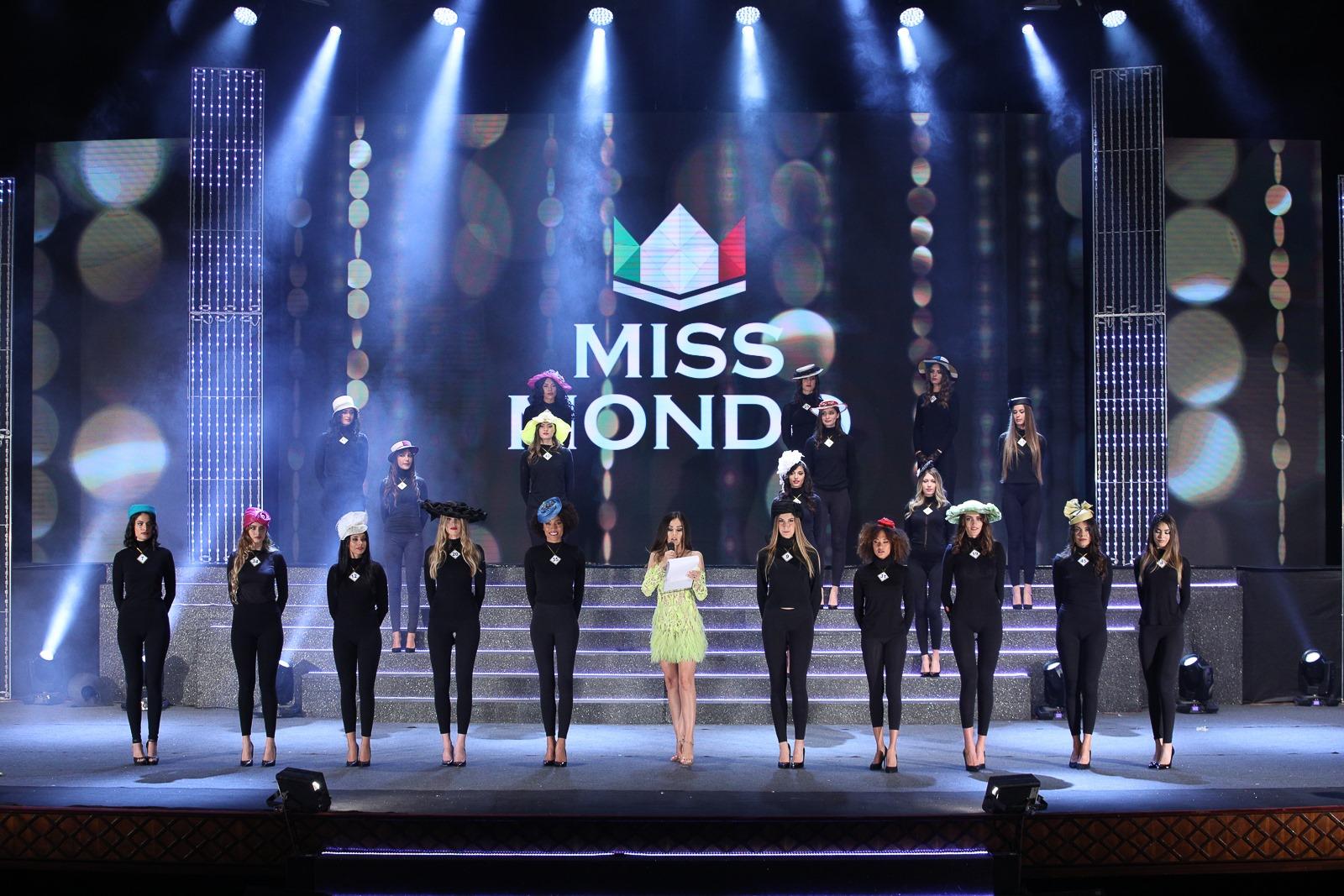 Sfilata in collaborazione con Stybel nella serata finale di Miss Mondo Italia 2019