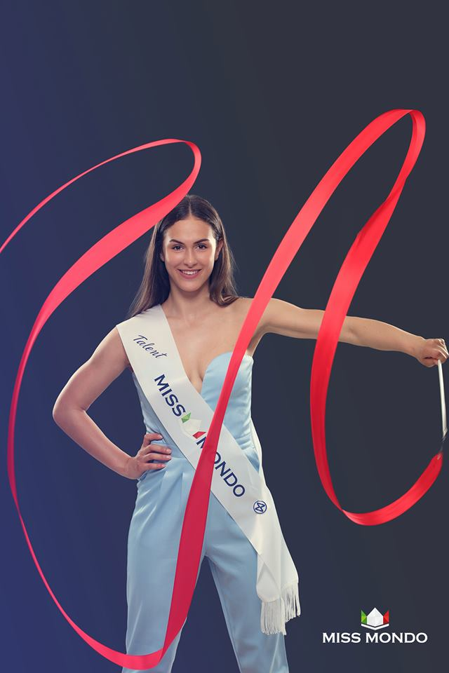 miss mondo talent 2019 - sarah pessot