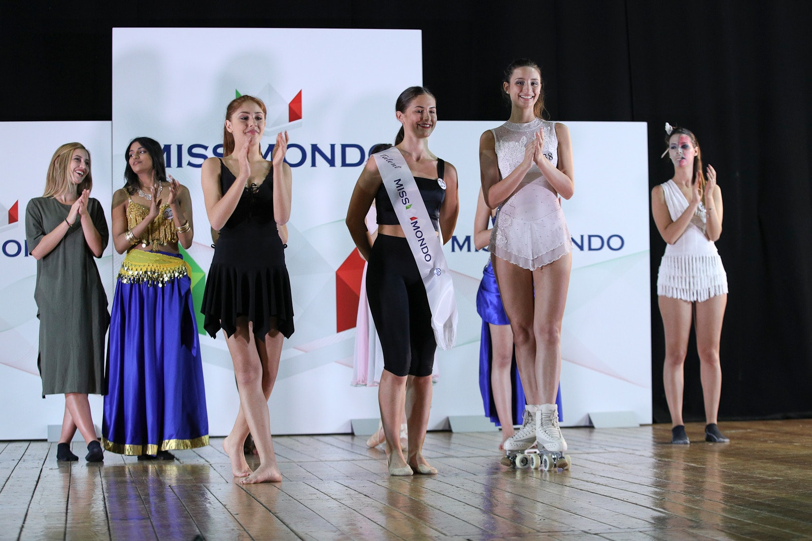 miss mondo talent podio