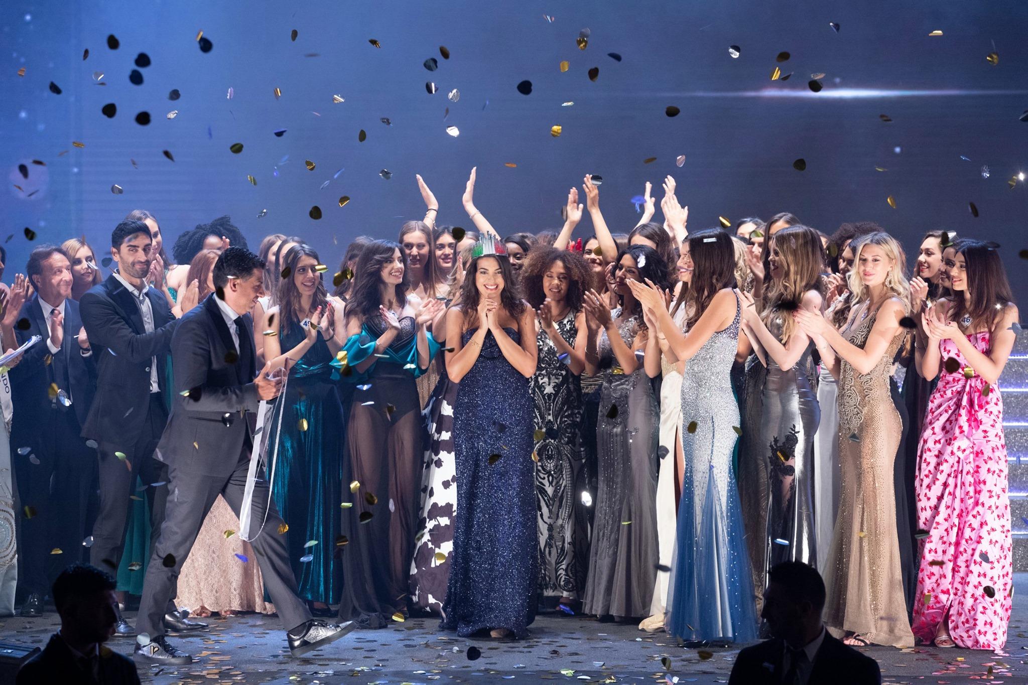 Proclamazione di Adele Sammartino - Miss Mondo Italia 2019