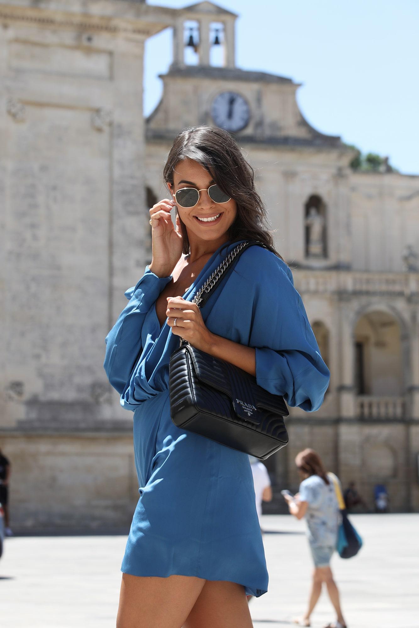 Adele Sammmartino - Shooting Piazza Duomo Lecce