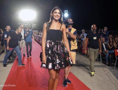 Adele Sammartino Miss Mondo Italia 2019, ospite della serata conclusiva della sedicesima edizione del Magna Grecia Fil Festival.