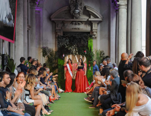 Adele Sammartino Miss Mondo Italia 2019 ospite alla Mad Mood Fashion Week di Milano.