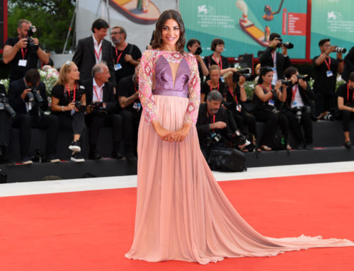 Adele Sammartino sul Red Carpet del Festival del Cinema di Venezia