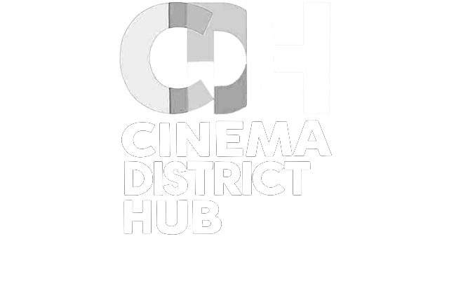 logo cinema distrinct hub