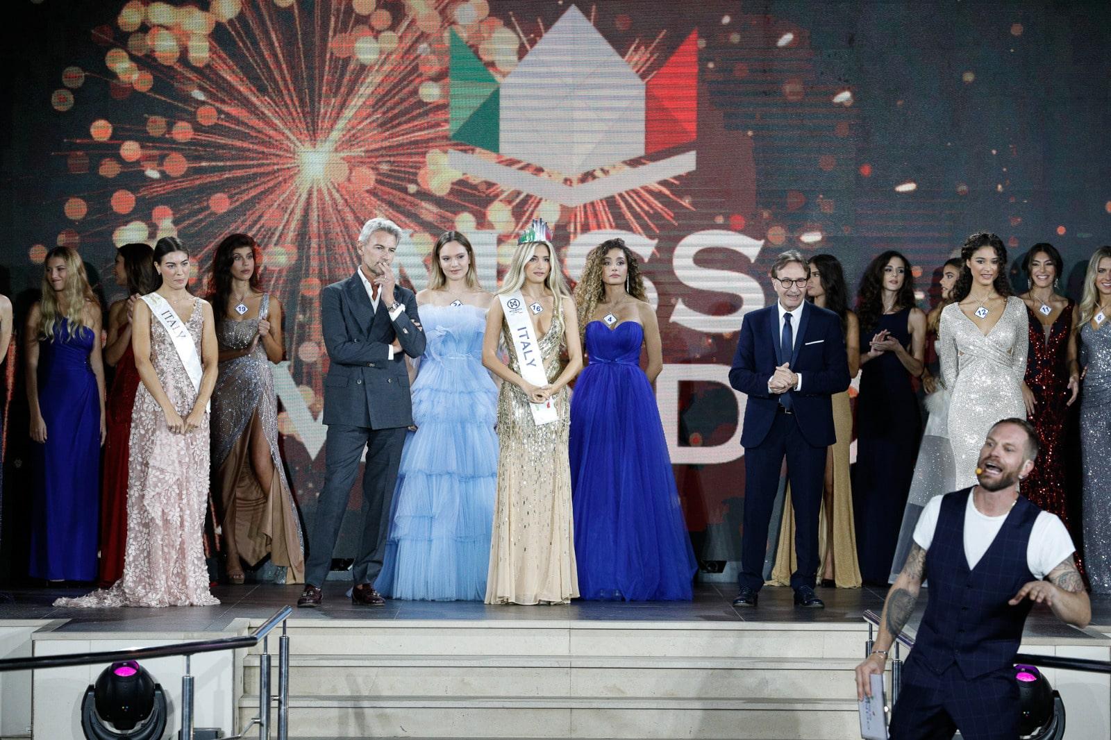 Incoronazione Miss Mondo Italia 2021 - Claudia Motta
