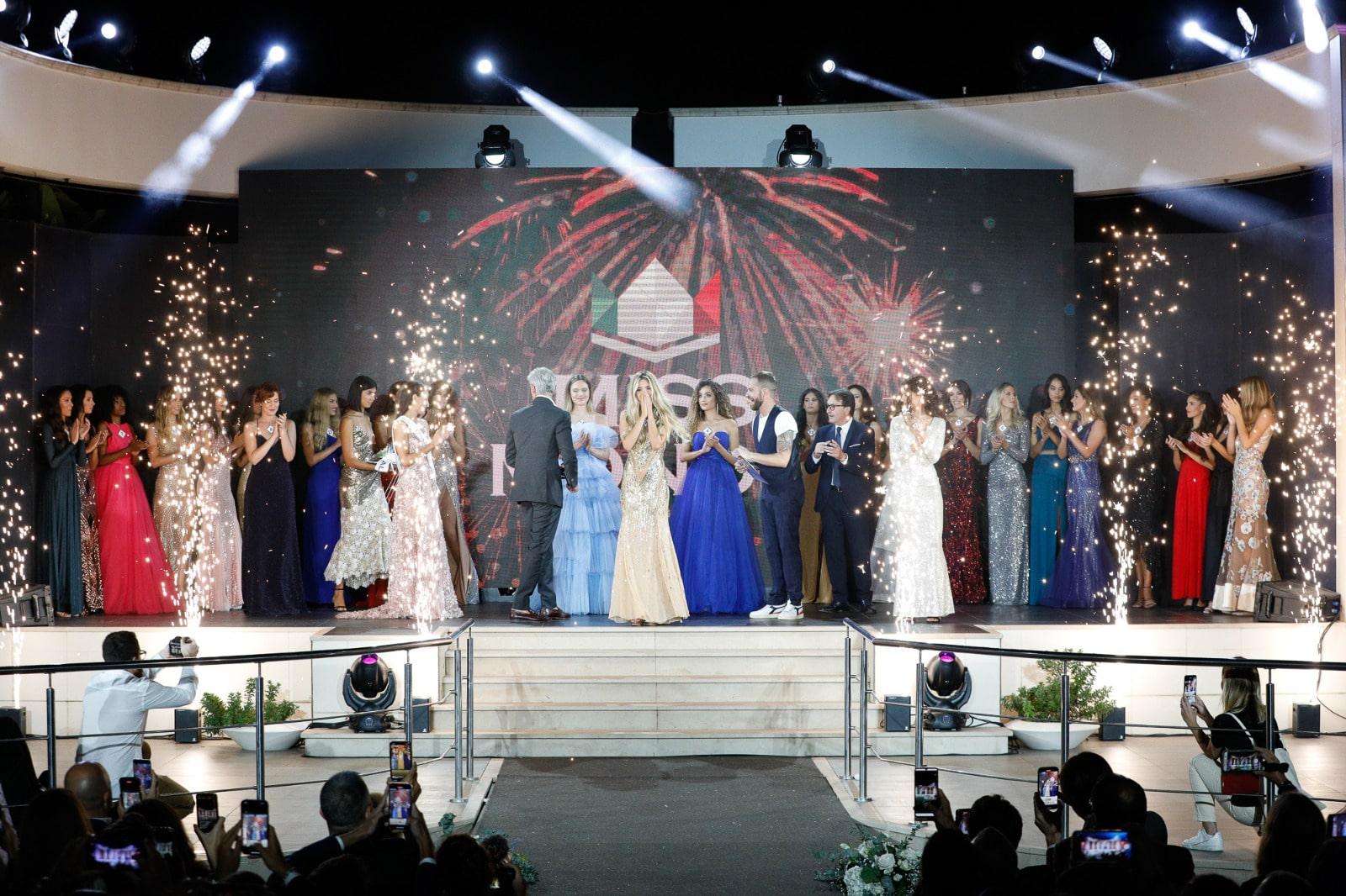 Momento elezione Miss Mondo Italia 2021 - Claudia Motta