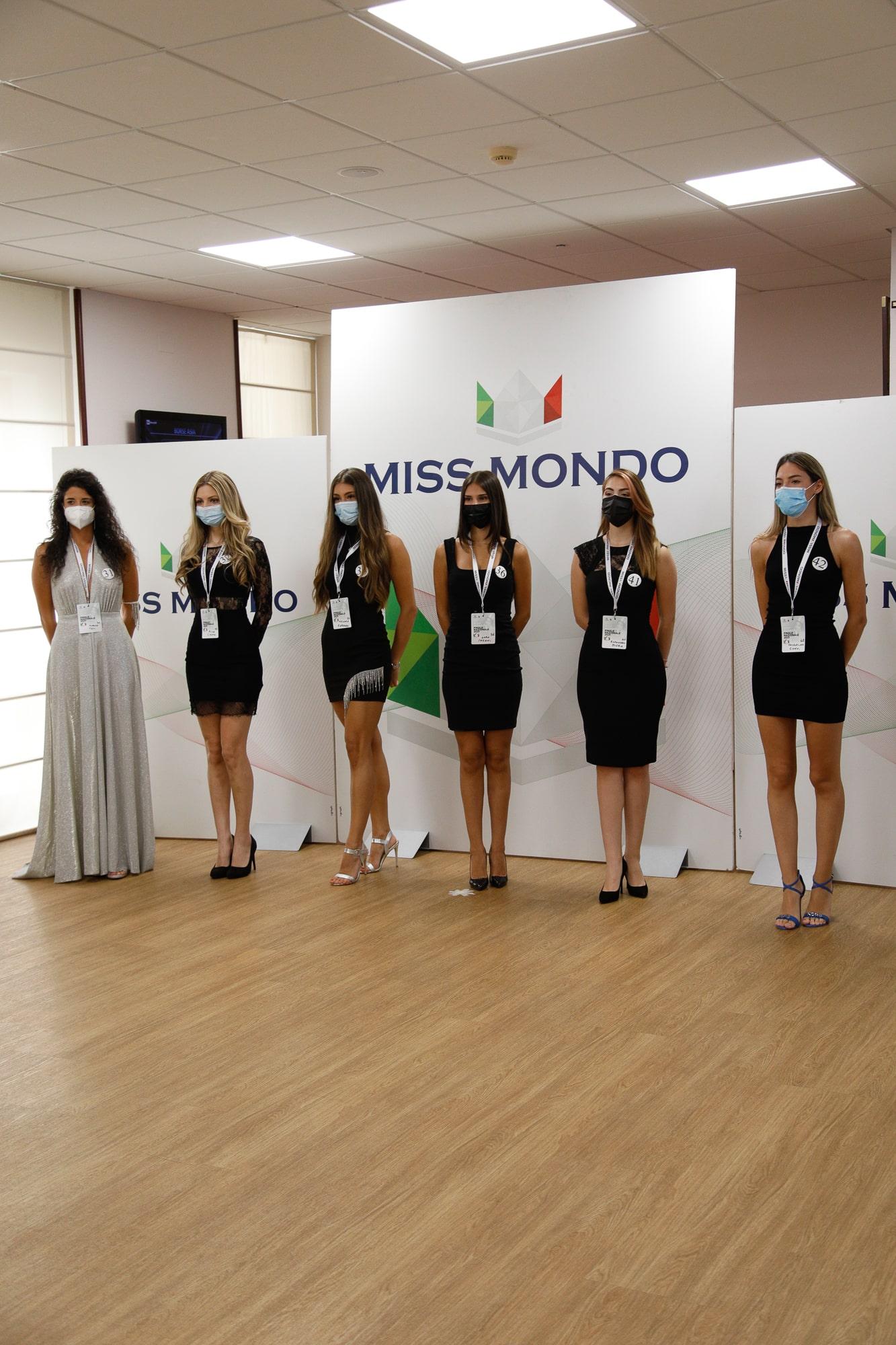 Secondo passaggio giuria per le ragazze di Missmondo Italia 2021 - 1