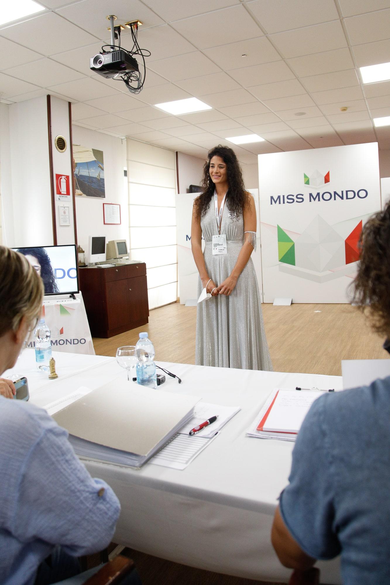 Secondo passaggio giuria per le ragazze di Missmondo Italia 2021 - 2