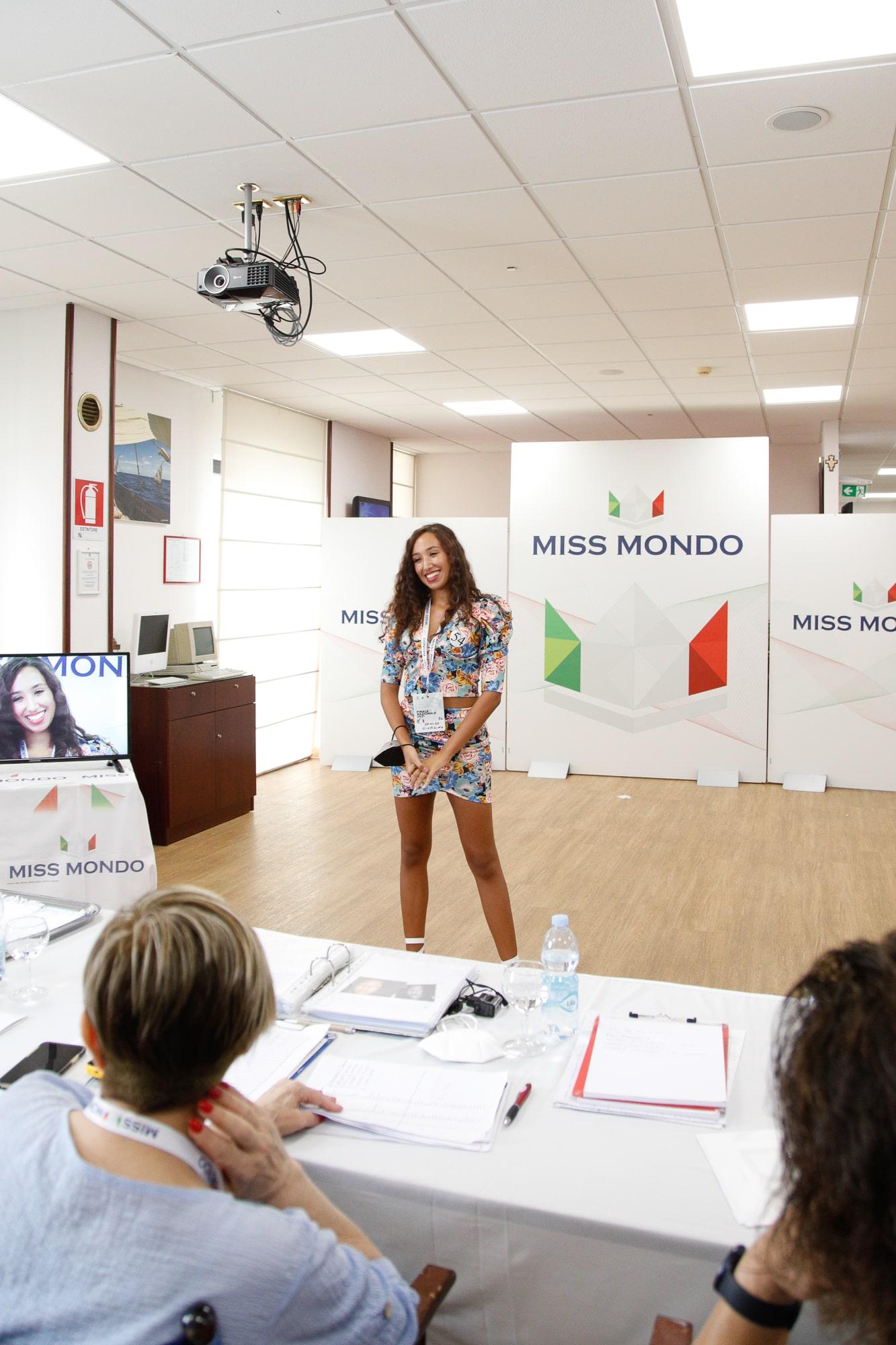 Secondo passaggio giuria per le ragazze di Missmondo Italia 2021 - 33