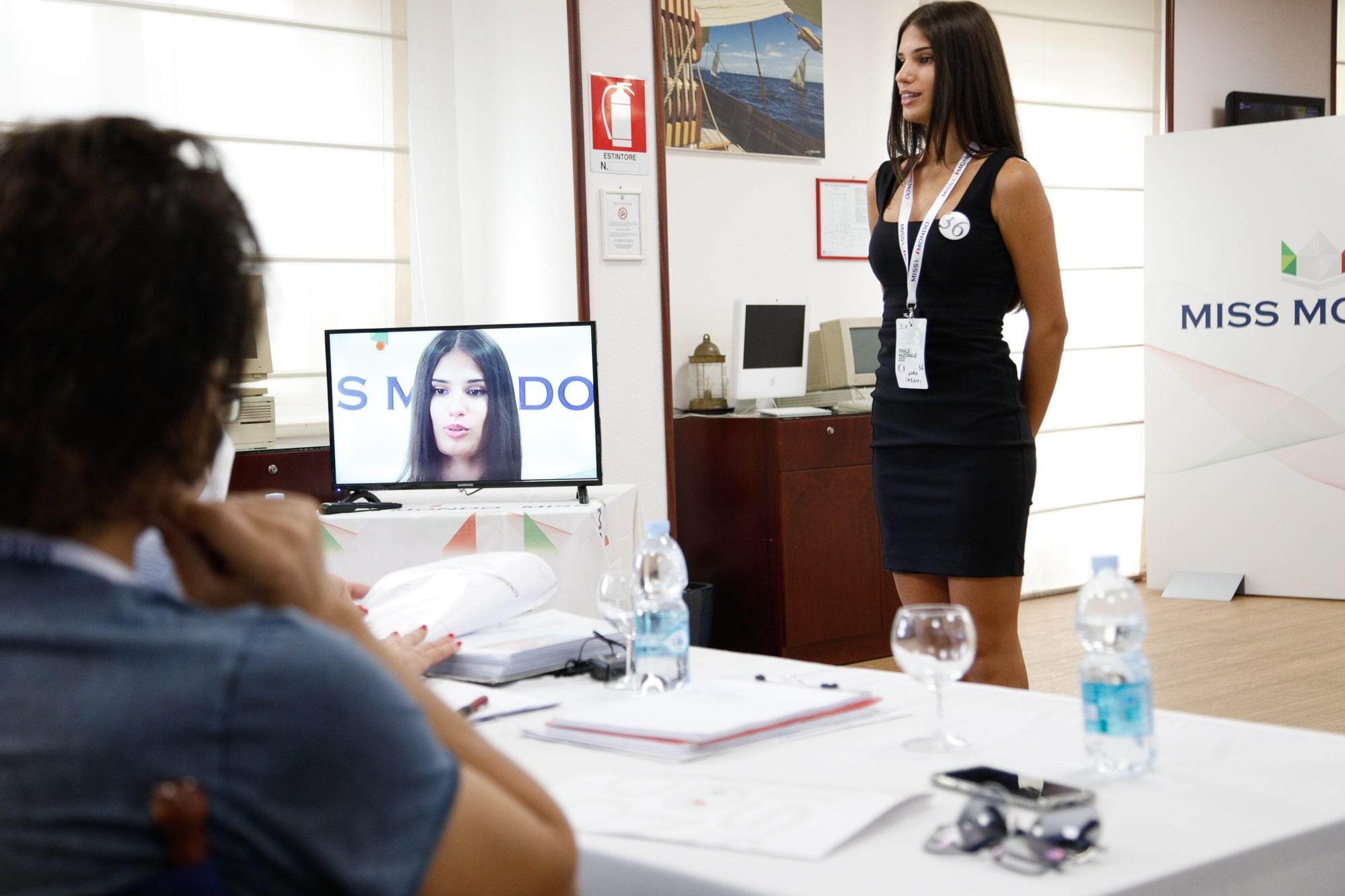 Secondo passaggio giuria per le ragazze di Missmondo Italia 2021 - 8