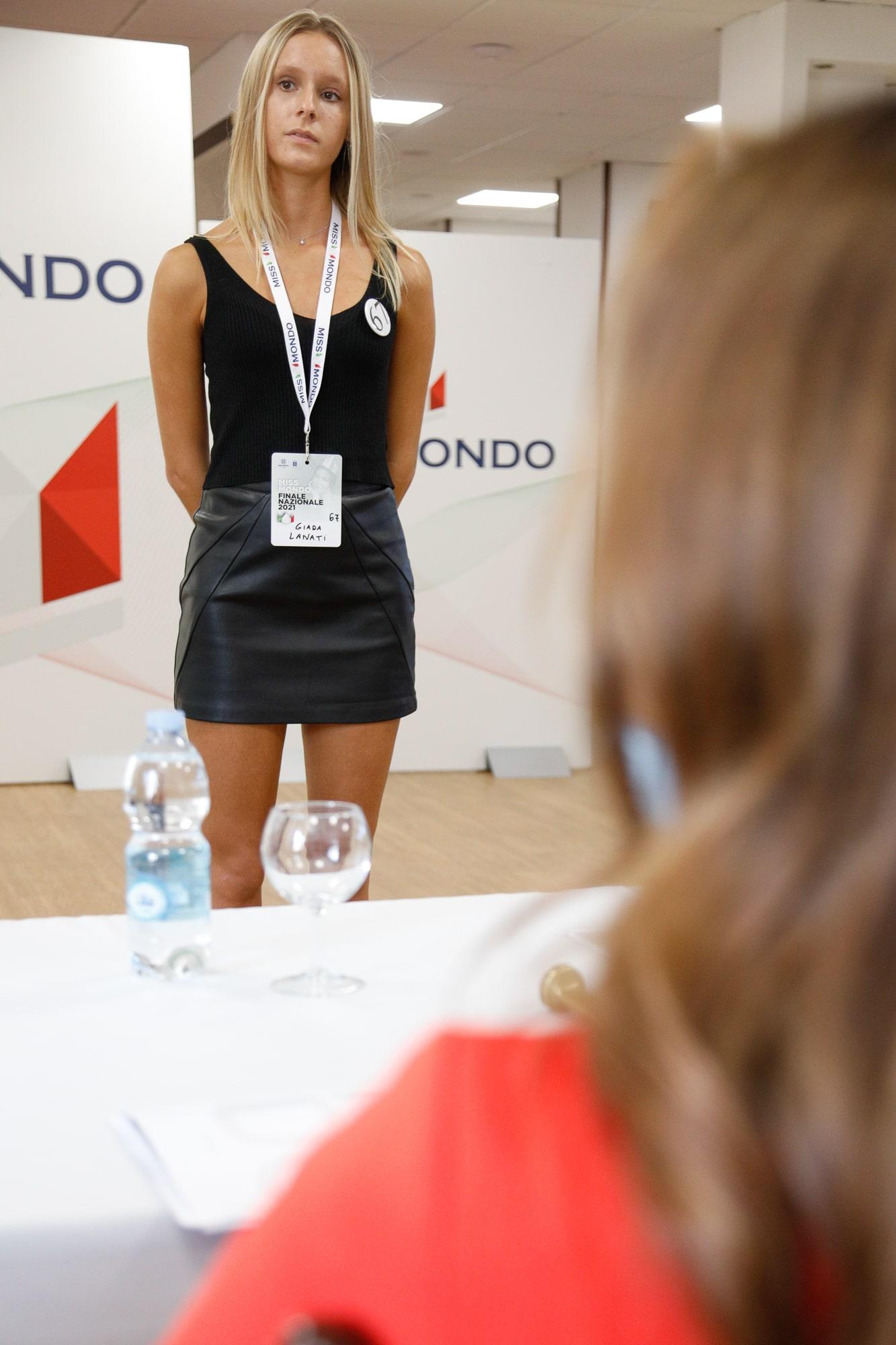 Terzo passaggio giuria per le ragazze di Missmondo Italia 2021 - 39